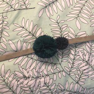 Loft Floral stretch belt M/L